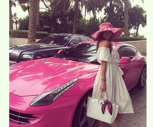 car, dress, and elegant image