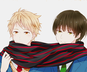 anime, anime boy, and beyond the boundary image