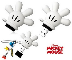 gloves, mickey, and pen drive image