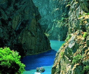 portugal, blue, and nature image