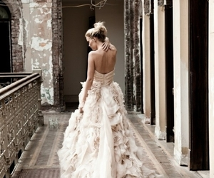 fashion, photography, and wedding dress image
