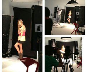 girl, photoshoot, and studio image