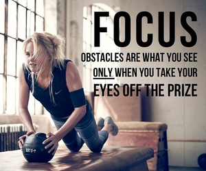 body, fitness, and focus image