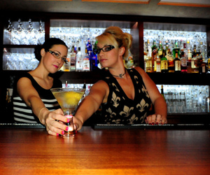 bartender, ibiza, and ladies image