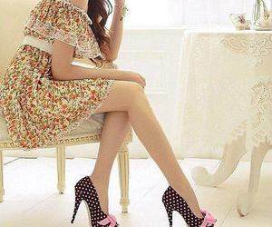 clothes, dress, and shoes image