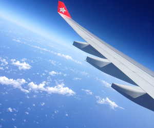 sky, fly, and swiss image