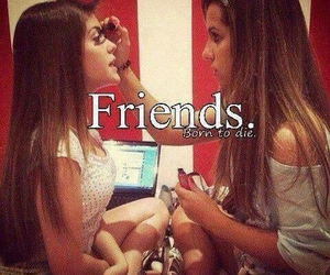 forever, friends, and friendship image