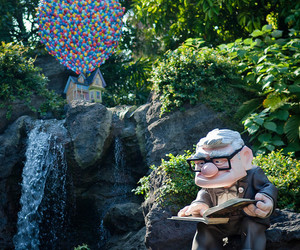 up, disney, and pixar image