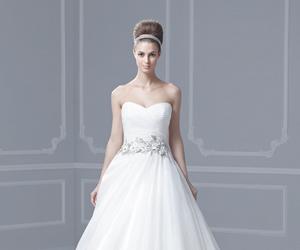 wedding dress and enzoani image