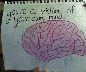 brain, doodles, and mind image