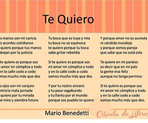I Love You, inspired, and mario benedetti image