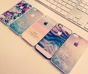 iphone, case, and apple image