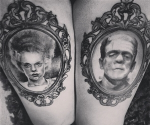 Frankenstein, horror, and pretty image
