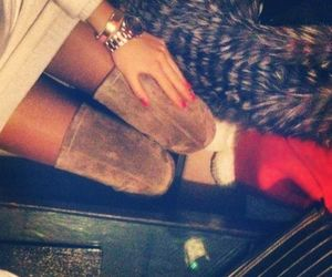 boots, nails, and classy image
