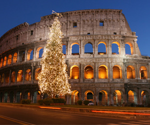 christmas, Coliseum, and rome image