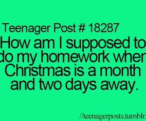 teenager post and christmas image