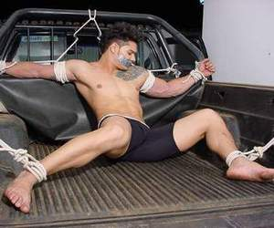 bondage, man, and sexy image