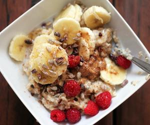 breakfast, food, and oatmeal image