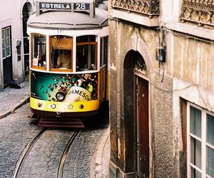 city, lisbon, and beautiful image