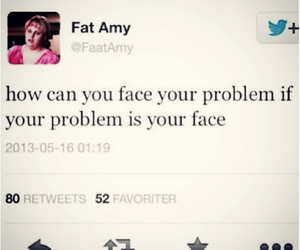 funny, amy, and fat image