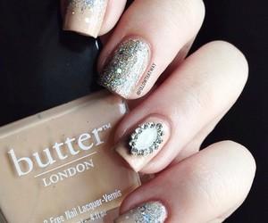 creative, diamonds, and nail polish image