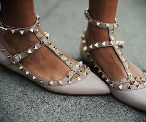 shoes and Valentino image