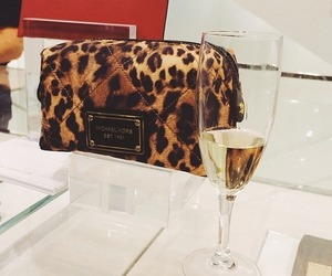 champagne, Michael Kors, and drink image