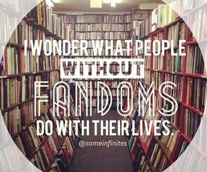 bands, books, and fandoms image