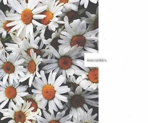 flowers, cute, and quote image