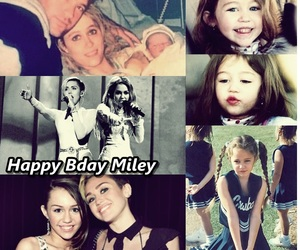 I Love You, birthday, and miley cyrus image
