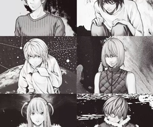 mello, death note, and near image