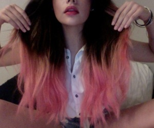 color, hair, and grunge image