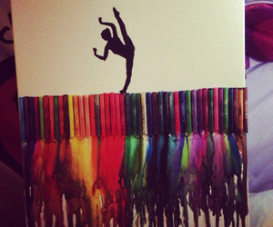art, ballet, and colourful image