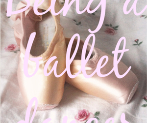 ballet, dancer, and girly image