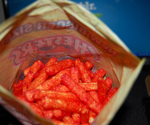 good, hot fries, and chesters hot fries image