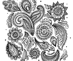 bohemian, design, and floral image