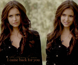 katherine, the vampire diaries, and tvd image
