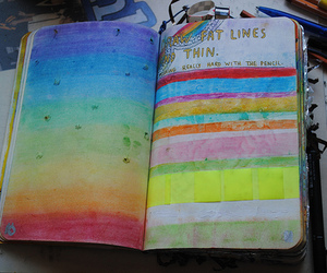 wreck this journal, art, and beautiful image