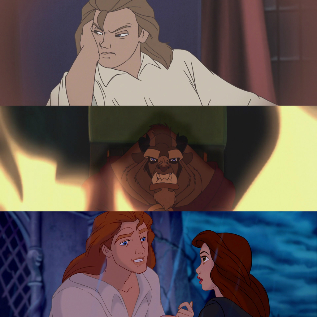 Prince Adam Beauty And The Beast First Second Screencap From Beauty And The Beast 2