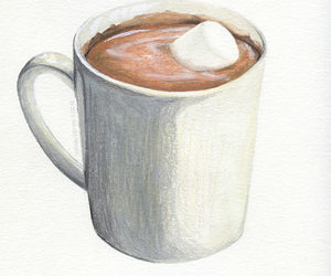 hot ​chocolate, chocolate, and coffee image