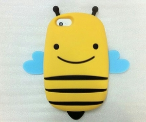 bumble bee, super cute, and phone case image