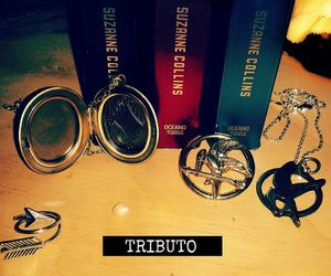 tribute, sinsajo, and hunger games image