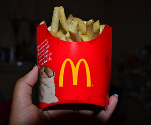 fries, McDonalds, and photography image