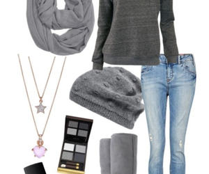 clothes, fashion, and gray image