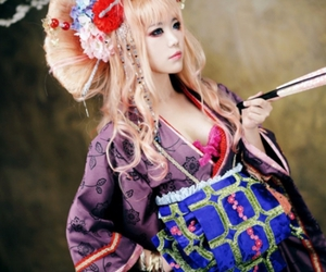 cosplay, girl, and macross frontier image