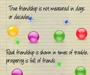 friendship, quotes, and true friendship image