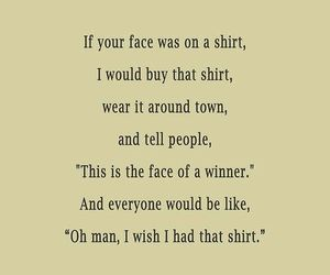 face, funny, and shirt image