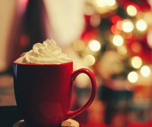christmas, coffe, and cream image