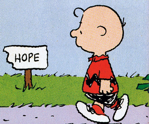 charlie brown and hope image