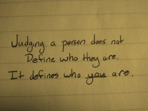 Quotes About Judging New SayingImagesBest Images With Words From Tumblr Part 48